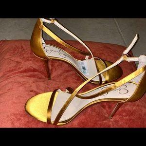 Jessica Simpson sexy night sandals